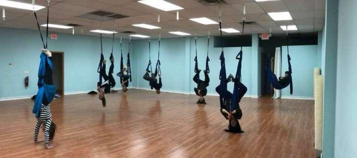 Aerial Yoga Day Yoga Studio